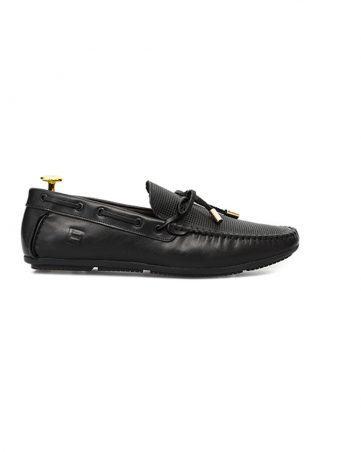 Giày lười nam dây đan đục lỗ GNLA717KJ-D