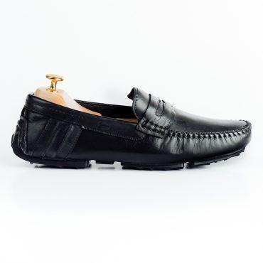 Giày lười nam đai da phối màu GNLA268-BL1-D