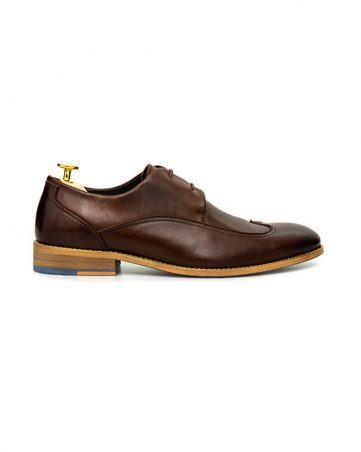 Giày tây nam may viền cách điệu GNLAC702-X3-CF