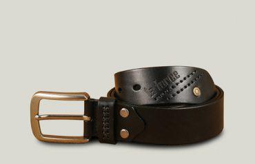 Thắt lưng nam da trơn mặt xỏ kim DJLA2012026-D