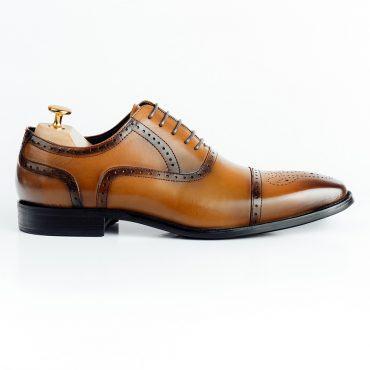 Giày tây nam phối viền GNLA101-20-N