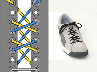 15 Cách buộc dây giày đẹp nhất, nhanh nhất – Phần 1