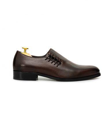 Giày nam mũi nhọn thắt dây GNLA2632-C05-CF