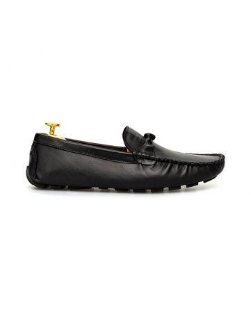 Giày lười nam đẹp da trơn thắt nơ GNLAMS08205-D