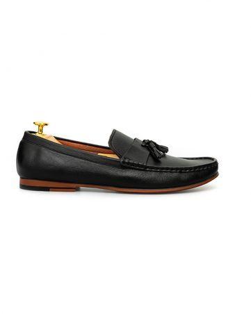 Giày lười nam đai ngang thắt chuông GNLA3118-D