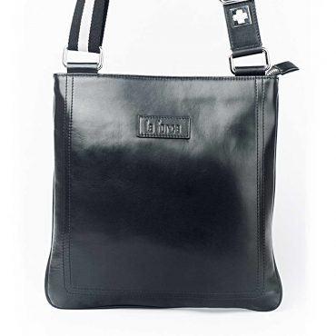 Túi đeo ipad nam da trơn dây đeo phối màu TLA7141-D