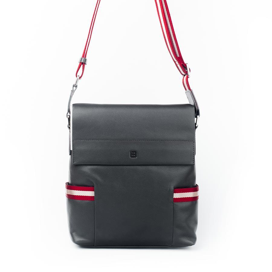 Túi đựng ipad nắp gập phối màu đỏ trắng TLA567-1-N