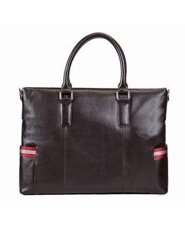 Túi xách nam công sở phối viền màu hai bên hông TLA567-5-N