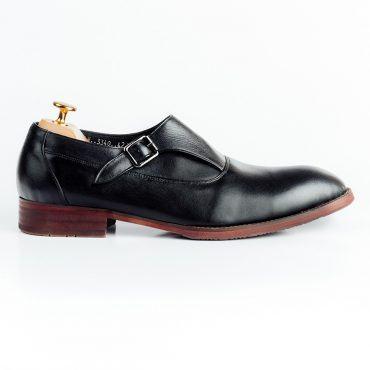 Giày da nam khuy cài chéo GNLA3340-D