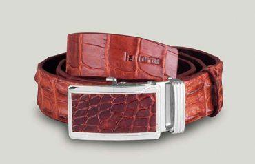 Thắt lưng cá sấu mặt khóa lăn DLA1500-LDB-NDO