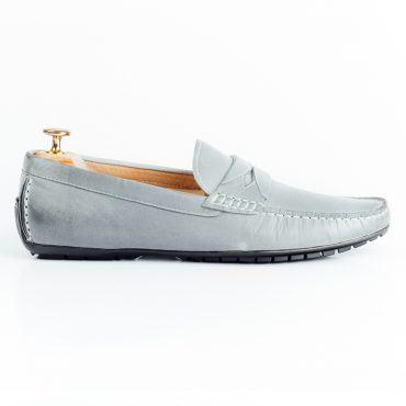 Giày driver họa tiết đai ngang độc đáo GNLAMG153-6-X