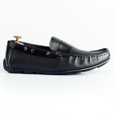 Giày lười nam đai ngang đục lỗ GNLAHF662-W3-D