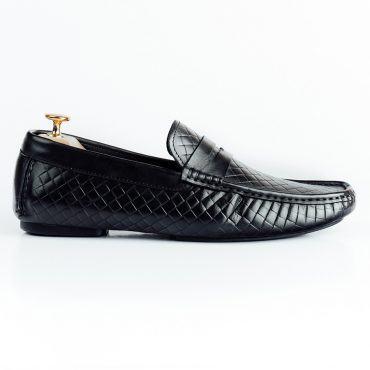 Giày lười nam họa tiết quả trám GNLAHF142-3-D
