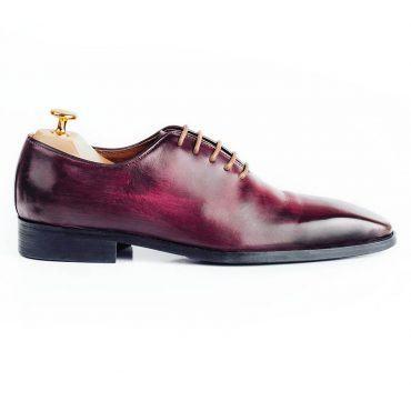Giày Oxford nam phối màu nâu đỏ GNLA486-1-NDO