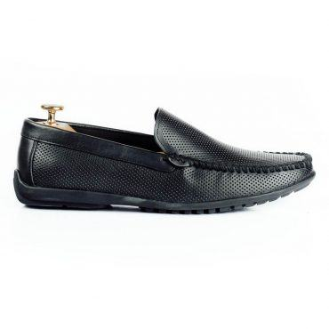 Giày lười nam bo viền chỉ cao cấp GNLACH568-D