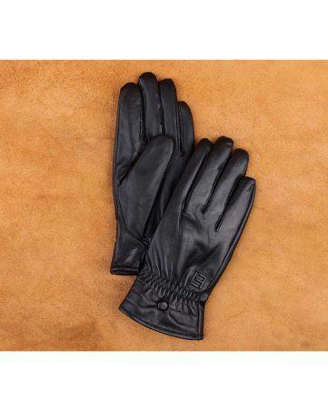 Găng tay nữ da cừu cao cấp GTLANU-03-D