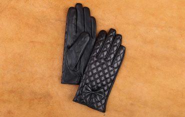 Găng tay da cừu cảm ứng cao cấp GTLACUNU-02-D