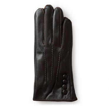 Găng tay da nữ da cừu cao cấp GTLACUNU-01-N
