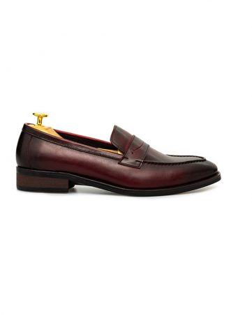 Giày lười nam quai da cao cấp GNLA986603-N
