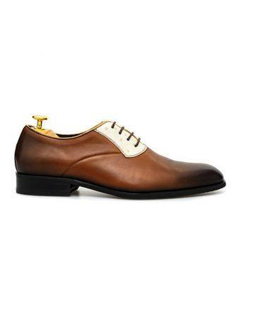Giày tây Spectator hai màu da GNLA81711-05-NV