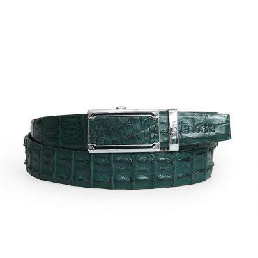 Dây thắt lưng cá sấu chính hãng DLA1200-01-BLDB-XR