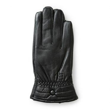 Găng tay da cừu nữ cảm ứng GTLACUNU-06-D