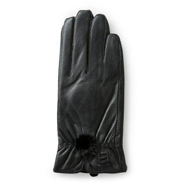 Găng tay da nữ cảm ứng sành điệu GTLACUNU-04-D