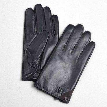 Găng tay da nam cảm ứng sành điệu GTLACUNA-08-D