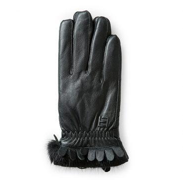 Găng tay da nữ cảm ứng thời trang GTLACUNU-05-D