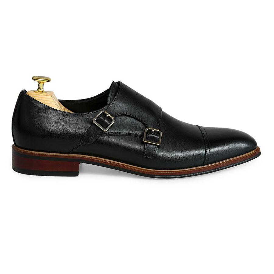 Giày tây nam Monk Strap GNLA826-352-D