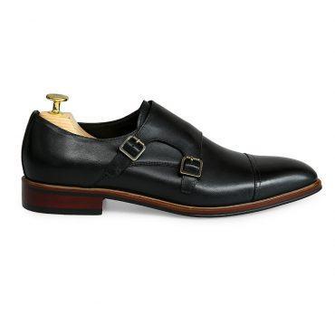 Giày tây nam cao cấp monk strap GNLA826-352-D