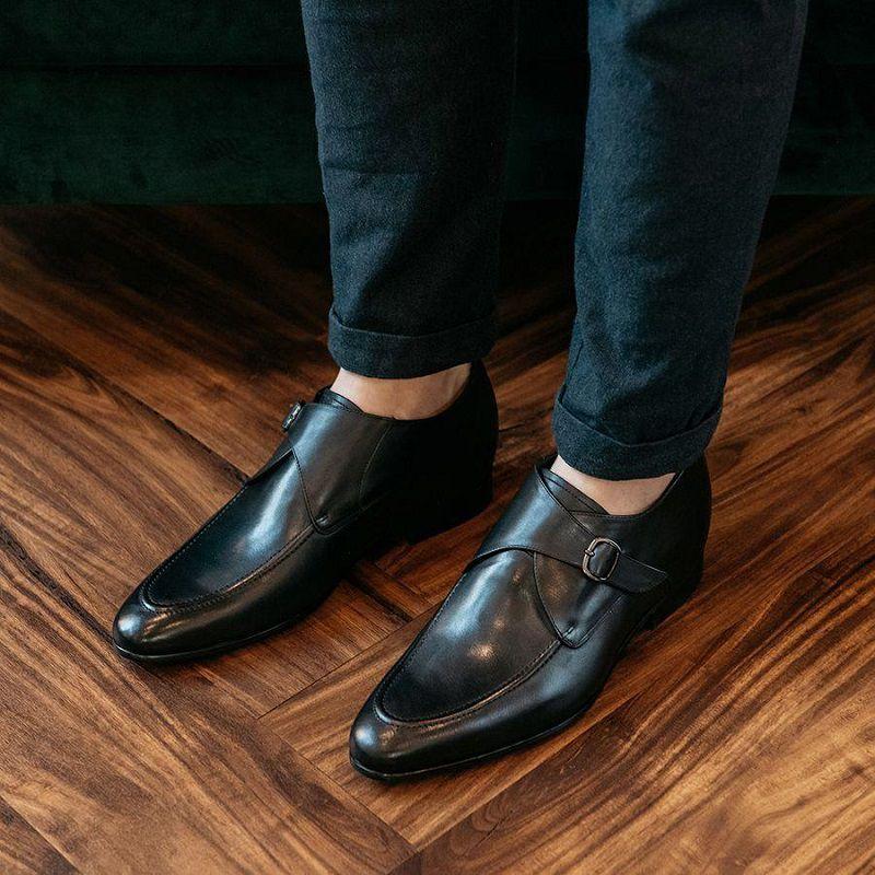 giày monk strap nam