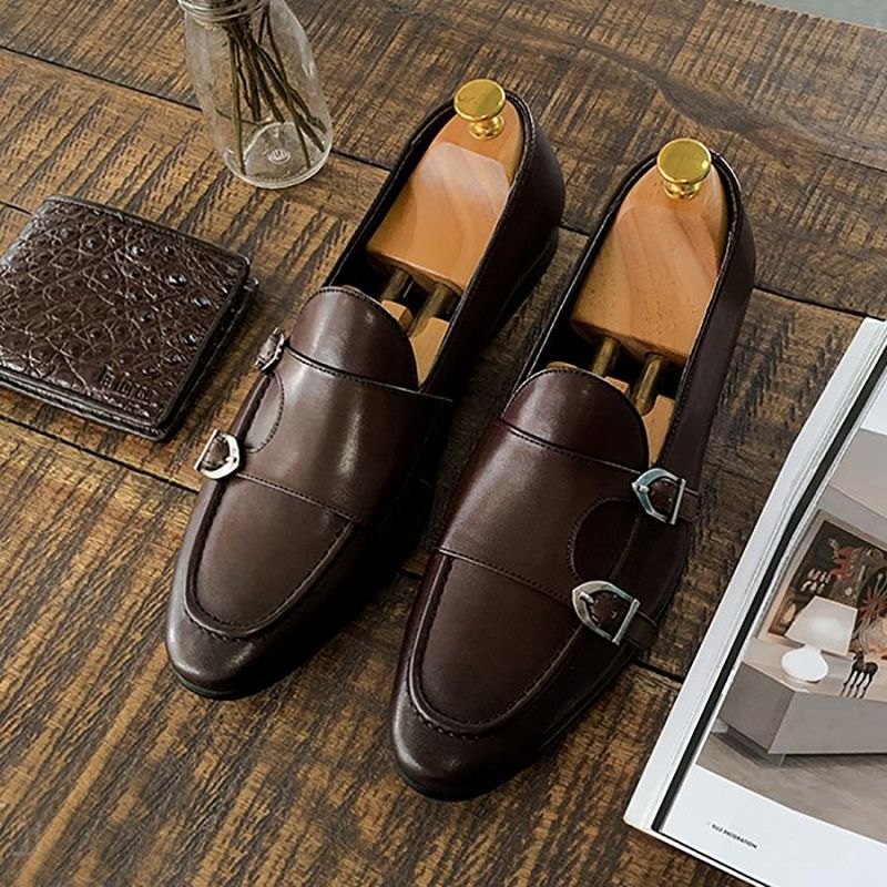 giày nam monk strap