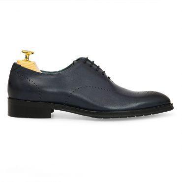 Giày da Oxford họa tiết đục lỗ GNLA9632-163-X
