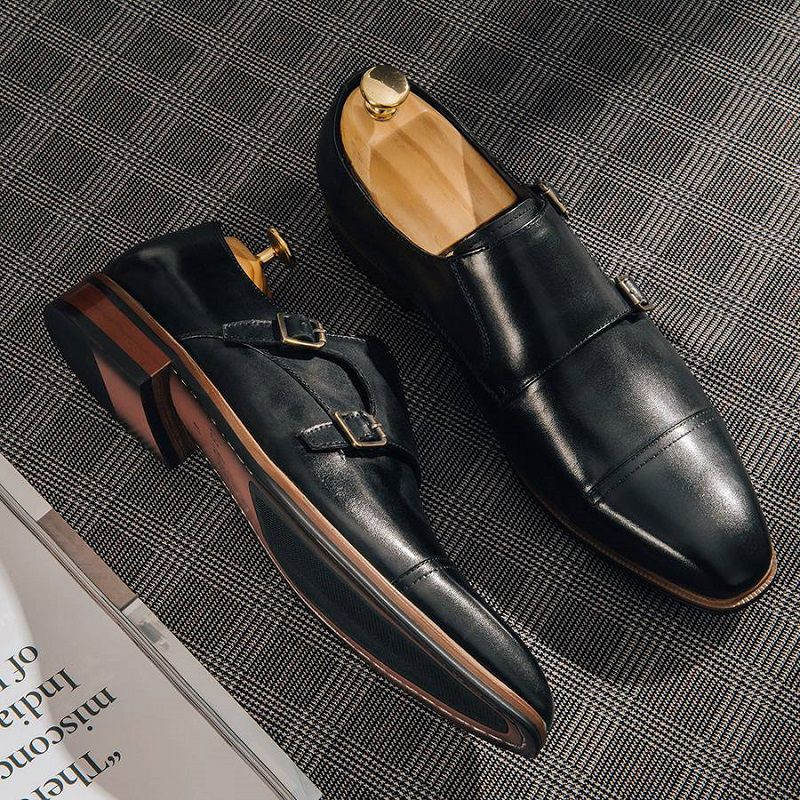 giày tây monkstrap