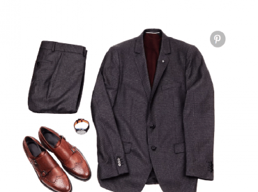 Gợi ý những cách phối suit cùng giày tây nam màu nâu