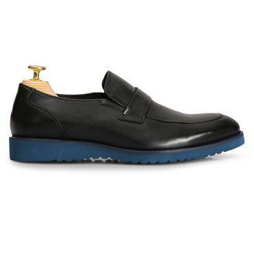 Giày lười nam đế xanh GNLA1368-1-D
