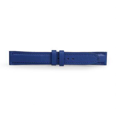 Dây đeo đồng hồ da bò xanh dương DDHLF-01-XCB