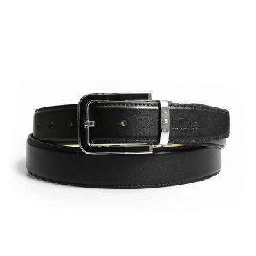 Thắt lưng da bò nam khóa bạc D520-2019726