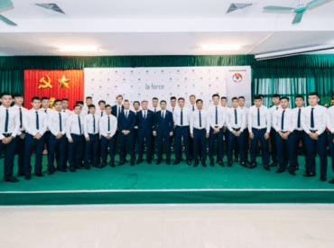 Đồ da LaForce tài trợ U20 Việt Nam tham dự World Cup 2017
