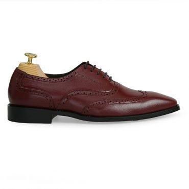 Giày brogues oxford nâu GNLA0819-N