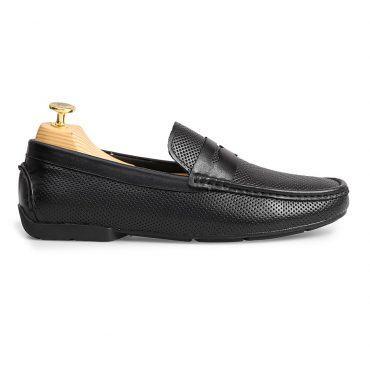 Giày Loafer nam họa tiết đục lỗ GNLA1915-D