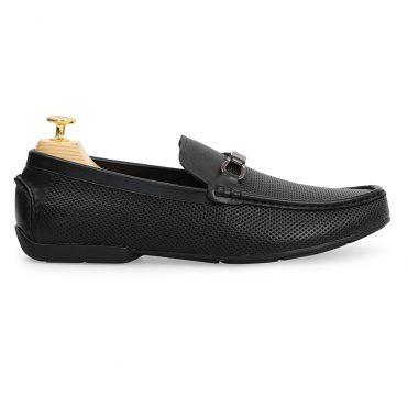 Giày nam Bit Loafer họa tiết đục lỗ GNLA20-1-D