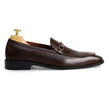 Giày Bit Loafer nam màu nâu GNLA86.2-N