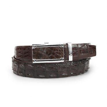 Thắt lưng nam da cá sấu DLA1200-01B-LD-CF