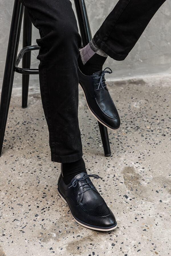 giày da nam đi với quần jean