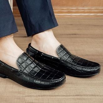 quần âu giày lười