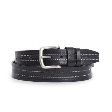 Dây thắt lưng nam quần jean màu đen DJLA2020-18-D