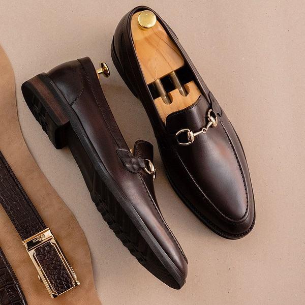 giày nam penny loafer