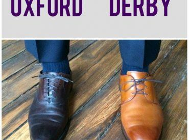 Giày Oxford và Derby là gì? Các mẫu giày Oxford và Derby được ưa chuộng nhất tại Laforce!